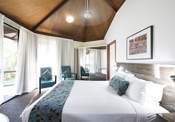 darwin double bed bucks party accommodation