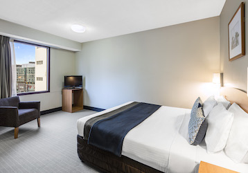 melbourne bucks double bed budget apartment accommodation