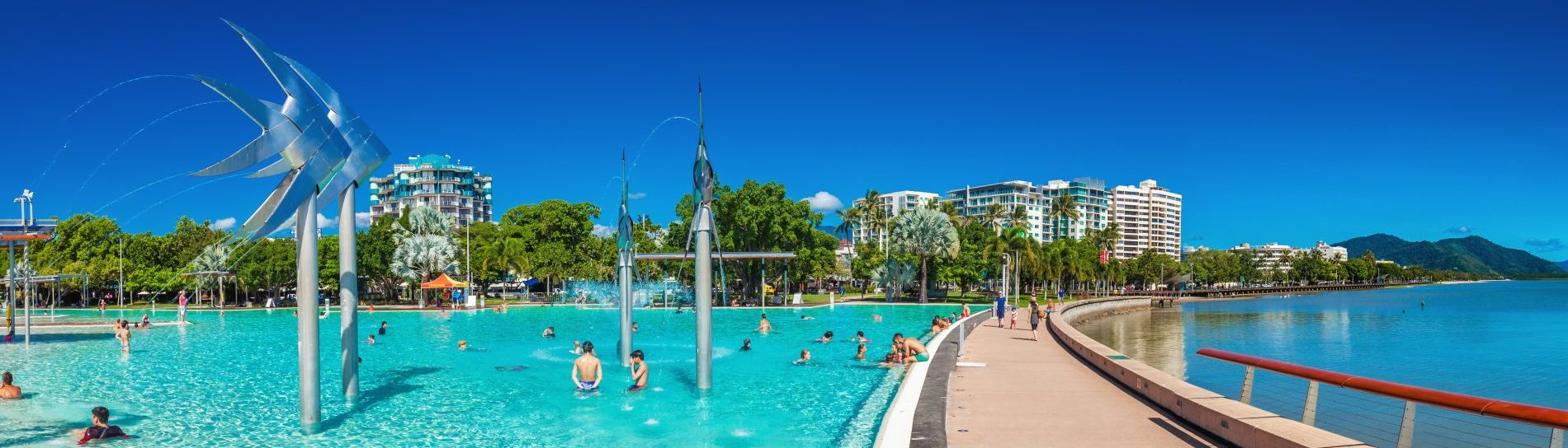The main pool in Cairns