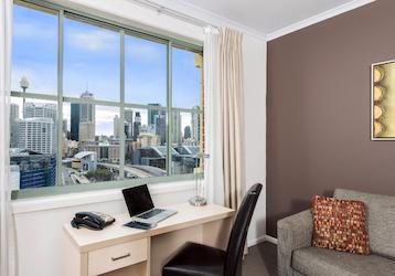 Sydney 2 bedroom city skyline executive apartment
