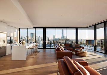 3 bedroom penthouse brisbane
