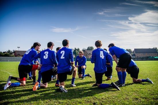 guys soccer team trips