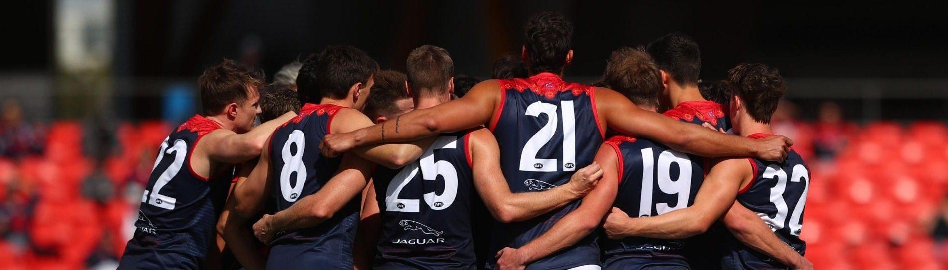 afl footy team end of season team trip header