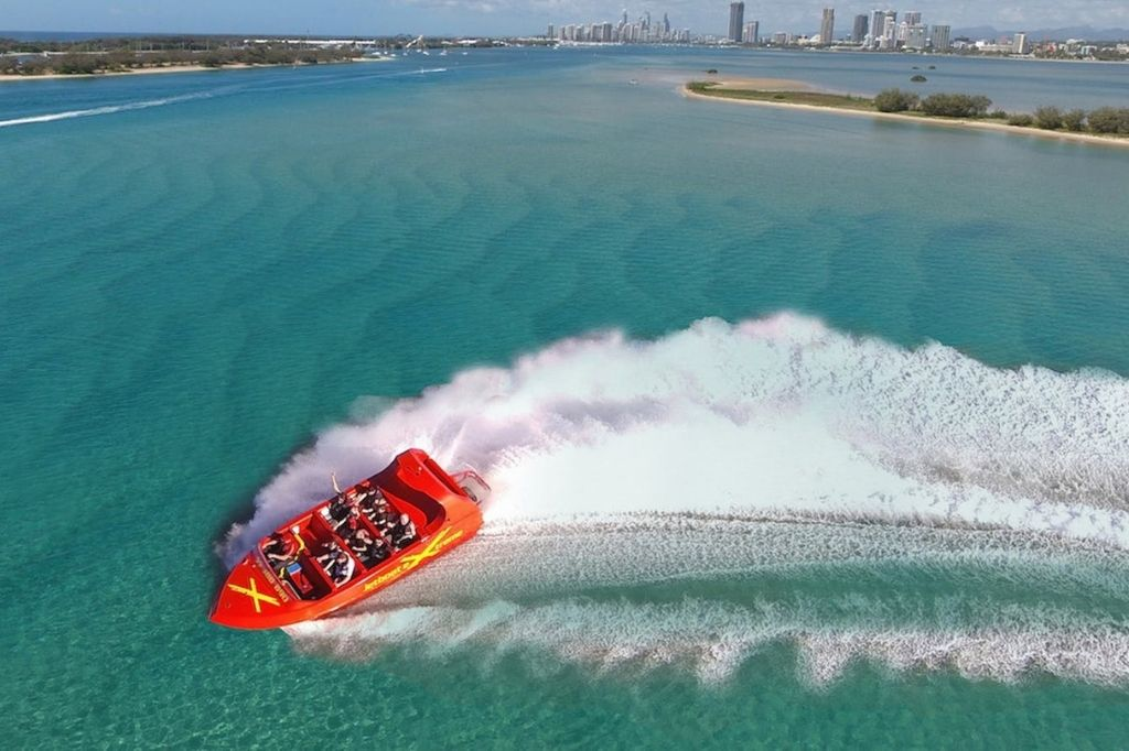 extreme jet boating team trips