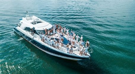 private boat cruise boys team trip boat party
