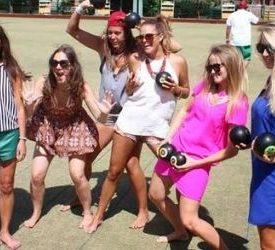 girls brisbane barefoot bowls