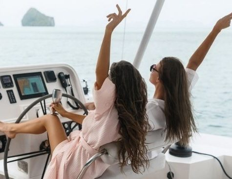 private cruise girls team trips sydney