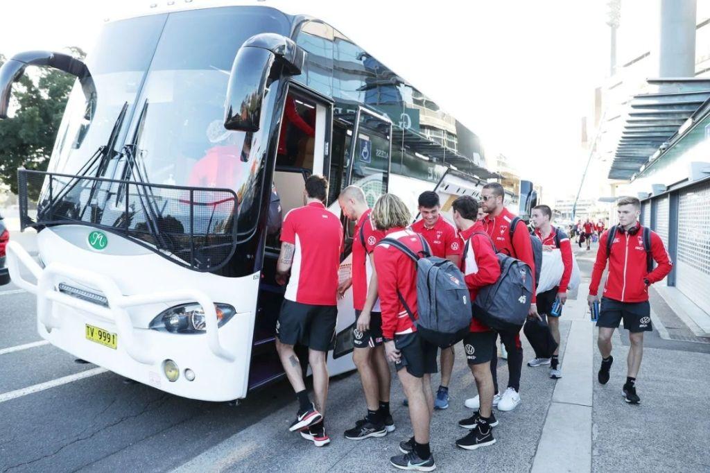 afl team trip transport