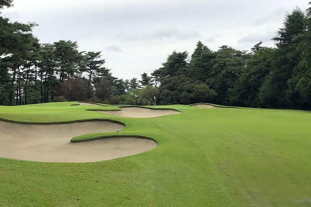 tokyo olympics golf course