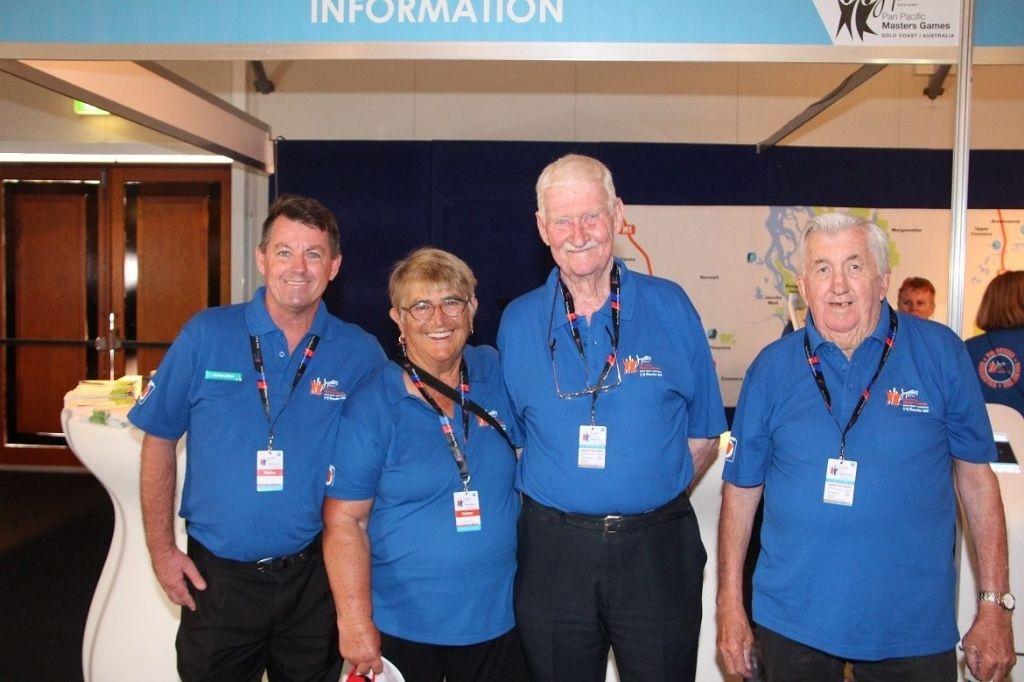 pan pacific games volunteers team trips